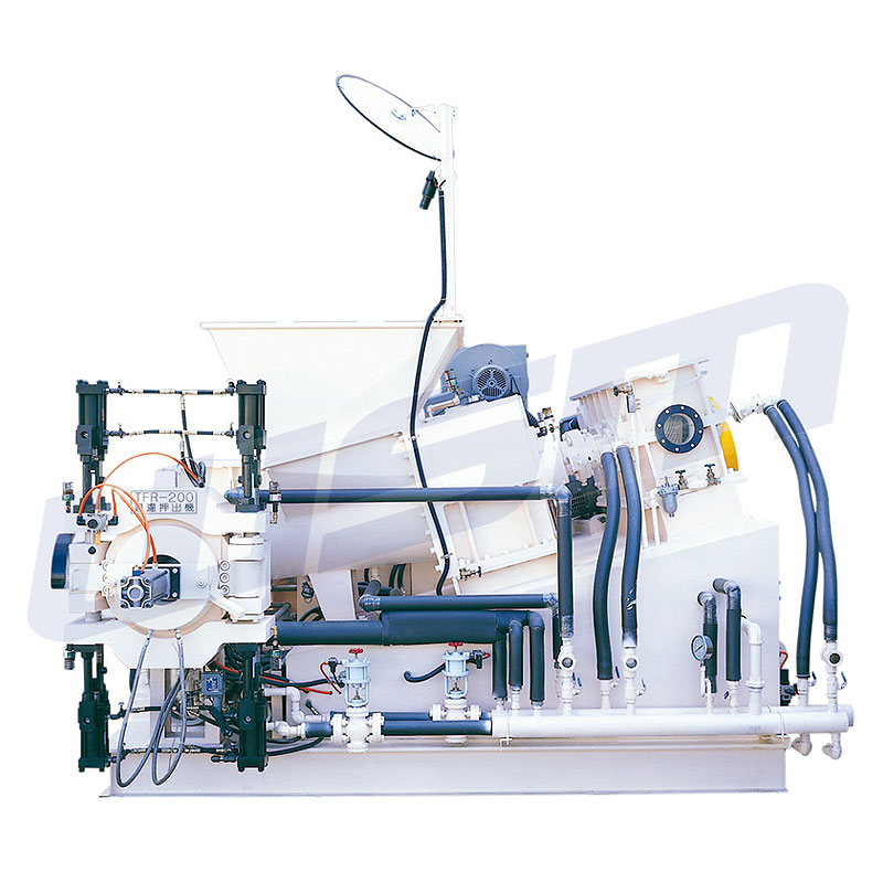TFR (Twin Taper-Screw Extrusion Sheet Preforming Machines)